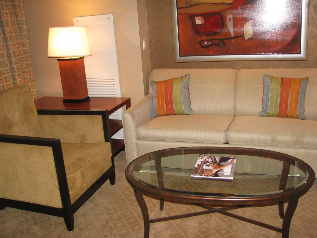 mgm signature suite: strip view & balcony. - homeaway las vegas