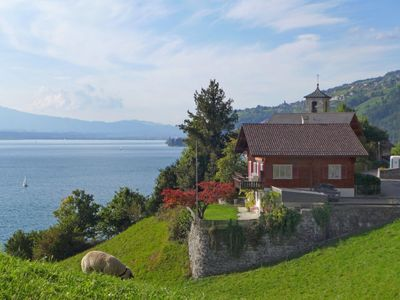 Photo for Vacation home Christina in Merligen - 7 persons, 4 bedrooms