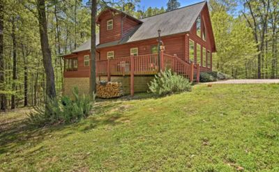 Photo for Stunning get-away in Lake Ouachita prime location!