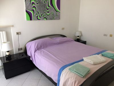 Photo for Large apartment in Rimini 150 meters from the sea for 8 people