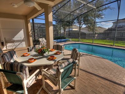 Photo for Windsor Hills, South Facing Pool, Home Cinema Room, Air Conditioned Games Room