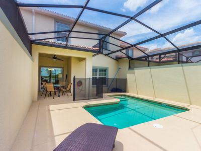 Photo for Reduced Rates, Brand New Home, Private Pool, Free Resort Amenities, Near Disney!