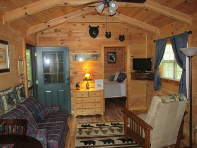 Photo for Clean, private cabin, convenient to downtown Waynesville; 1 of 2 cabins