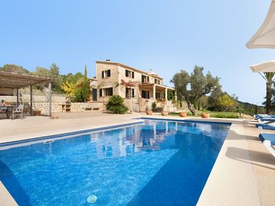 Photo for Pollenca Villa, Sleeps 9 with Pool and Air Con