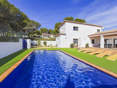 Photo for La Fustera Villa, Sleeps 8 with Pool, Air Con and WiFi