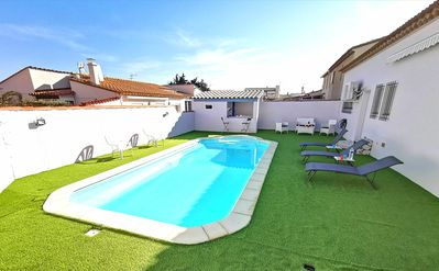 Photo for Villa with pool near the sea