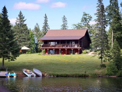 Photo for 3BR Cabin Vacation Rental in Hardwood, Michigan
