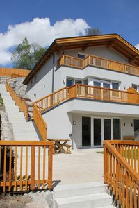 Photo for Luxury family holiday home, private sauna and Jacuzzi terrace with great views