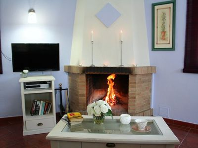 Photo for One bedroom Villa, sleeps 2 in Montecorto with Pool, Air Con and WiFi