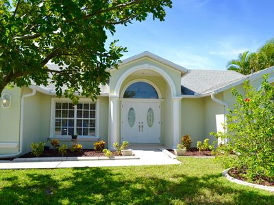 Photo for 3 Bed 2 Bath Pool Home W/ Western Exposure In Cape Coral - Amazing Location