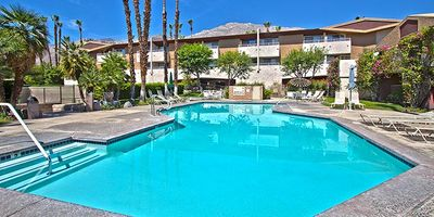 Photo for Downtown Palm Springs Retro Modern Condo With Mountain View Free WiFi