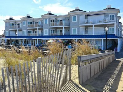 Photo for FREE ACTIVITIES INCL.! Enjoy the best of Bethany Beach from this NEW OCEAN FRONT 3 bedroom, 3 bath second floor condo located in the heart of down town.