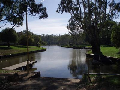 Photo for Affordable Bundalong Waterfront, Boat Access, Skiing, Fishing, Relaxing.