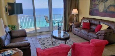 Photo for Tasteful, Upscale Beach Condo with a Jacuzzi Tub