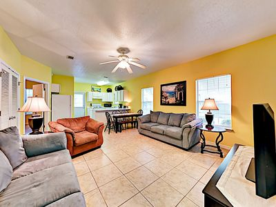 """Photo for Hip """"Hideaway B"""" w/ Pool, Patio & Grill - By TurnKey"""