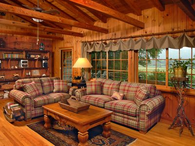 Photo for Rustic Elegance & Mountain Seclusion $110 - $112 Majestic Mountain Views  - WiFi