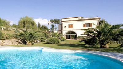 Photo for Amazing Villa with private pool surrounded by beautiful garden in Sorrento coast