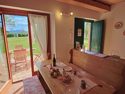 Photo for Special OFFER! Charming flat in Le Marche countryside with amazing view and pool