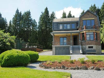 Photo for Charming mansion with spacious garden and stunning views