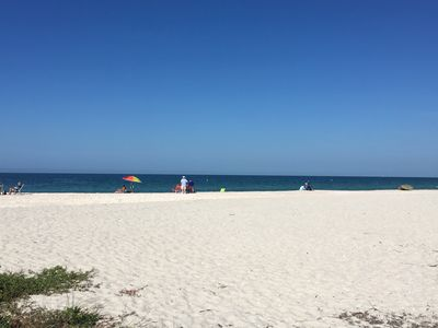 Photo for 15 minute Walk to the Beach. Dolphins. Manatees.  Lots of shells.  2 Bedroom