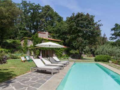 Photo for Murella, a beautiful villa with private pool in the woods of Montemarcello