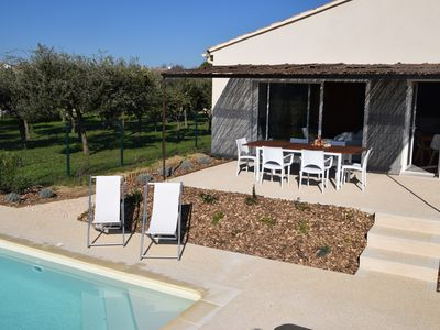 Photo for NEW: House 6 pers with private pool at 700m from the village shops