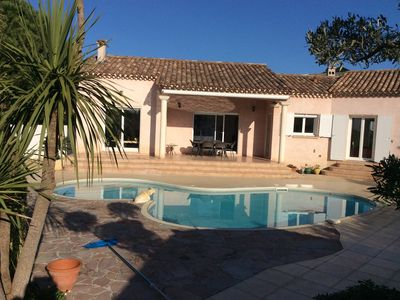 Photo for Superb Villa 140 m2 with swimming pool near the beach