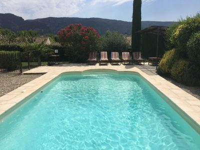 Photo for Rental with pool in Oppède, Luberon - beautiful view - close to the center on foot