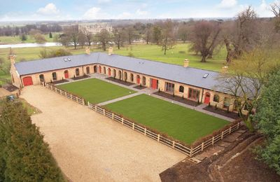 Photo for The Dairy, on the Burghley Estate, luxury accommodation for 12 guests in Capability Brown parkland.