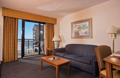 Photo for Oceanfront 1 Bedroom Suite at Great Resort + Official On-Site Rental Privileges