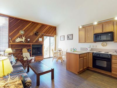 Photo for NEW LISTING! Cozy retro condo with clubhouse access
