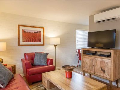 Photo for Bring Your Pet Along to this Cheerful Downtown Condo!