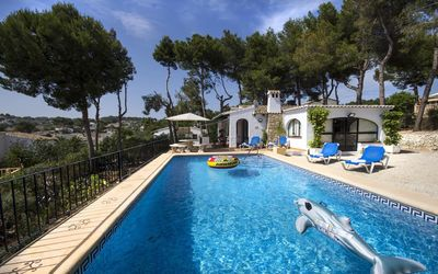 Photo for CHOCOLATE - Villa with private pool surrounded by nature in Moraira