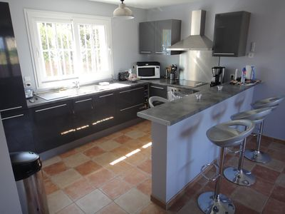 Photo for Superb new villa less than 100 m from the Mediterranean in Sainte-Maxime.