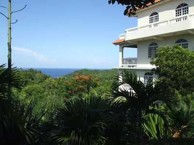 Villa is situated with valley and  Ocean views