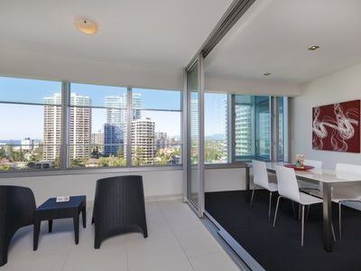 Photo for Luxury One Bedroom Apartment with Spa Bath in the Heart of the Gold Coast at Q1