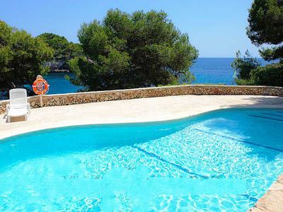 Photo for One bedroom Apartment, sleeps 4 in Cala Serena with Pool