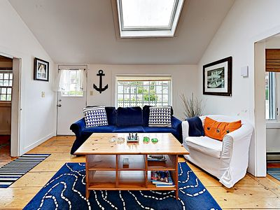 Photo for New Listing! Cape Cod Cottage w/ Grill - 100 Yards to Private Mashpee Beach