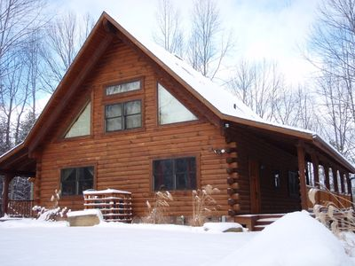 Photo for Hocking Hills Luxury Cabin
