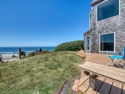 Photo for NEW LISTING! Two adjacent beachfront condos w/ gorgeous ocean views - dogs OK!