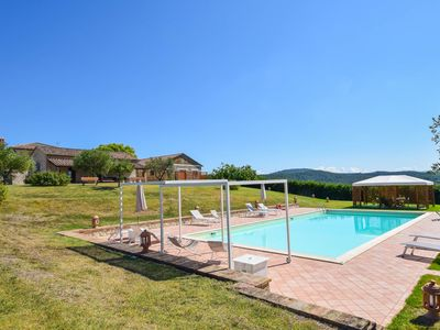 Photo for Villa with private pool, bikes at 2km from town. Quiet area & panoramic views