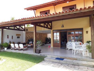 Photo for Excellent house by the sea with pool on the beach of CATUAMA