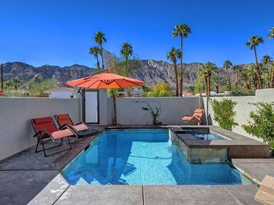 Photo for La Quinta Pool Home w/ sun terrace + mountain views!