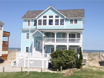 Photo for Sun Runner OCEANFRONT in Rodanthe w/Pool&HotTub, RecRoom