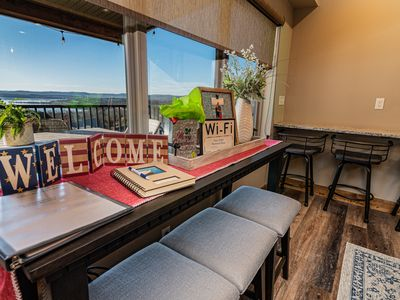 Photo for Amazing Table Rock Lakeviews in Chateau Cove!! Firepit and pool table!