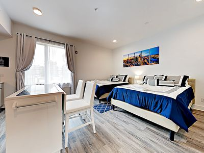 Photo for New Listing!  Brand-New Contemporary Studio - 8 Minutes to Broadway