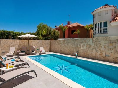 Photo for Vacation home Villa Curie Sonnenland  in Maspalomas, Gran Canaria - 8 persons, 4 bedrooms
