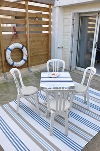 "Photo for ""LE CABANON"" at 30m ocean, 3 *** comfort, calm, garden, parking, pets allowed"