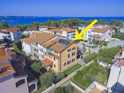 Photo for Apartment 2000/28357 (Istria - Fažana), Beach front accommodation, 50m from the beach