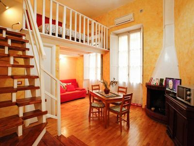 Photo for Rome: Pretty Studio Flat in Rome City Central in Piazza Vittorio next to Termini, Rome's main Railway Station.